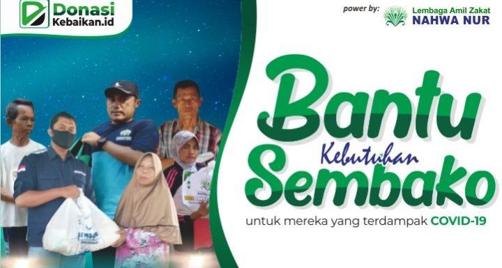 Donasi Paket Sembako