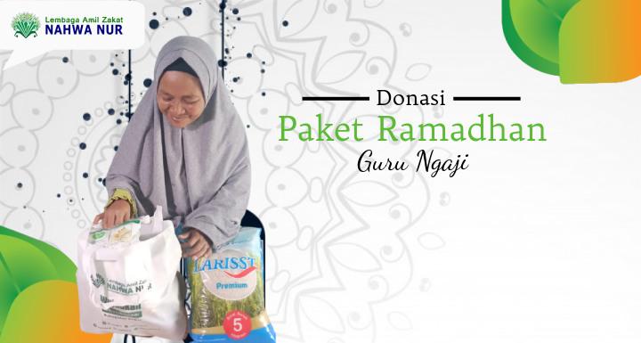Donasi Paket Sembako Ramadhan