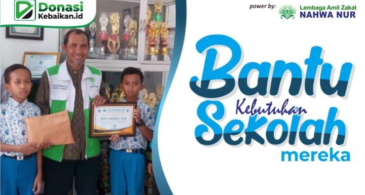 Bantu biaya pendidikan anak hebat
