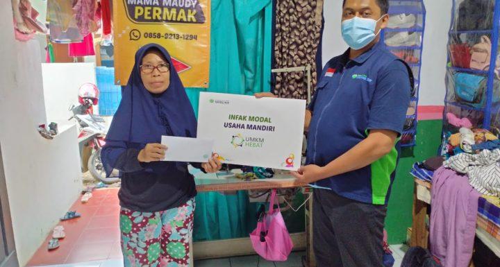 Bantu usaha para ibu hebat agar tetap bertahan di masa pandemi